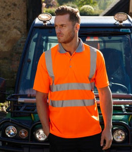 Warrior Daytona Hi-Vis Polo Shirt from £10.50 each (pack of 6)
