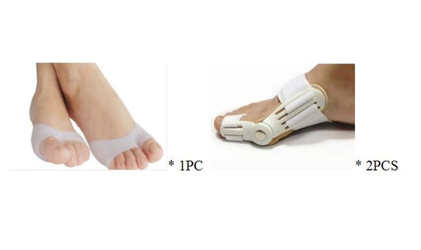 Ballet toe point finger protection sleeve Anti-wear silicone forefoot cover old eyelet anti-pain toe set