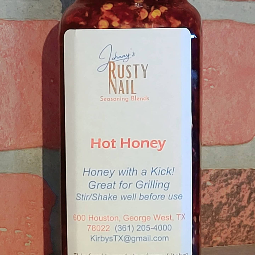 Johnny's Rusty Nail Hot Honey
