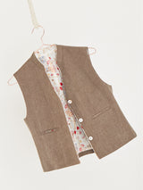 Sand carry over short vest