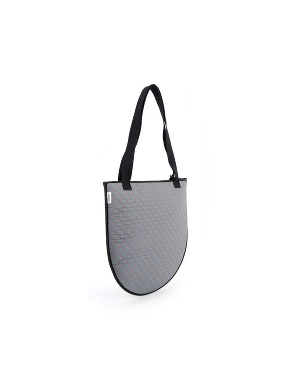 BORSA MEDUSA QUILTED GREY