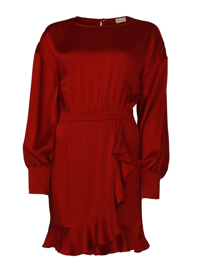 MINI DRESS ROSSO