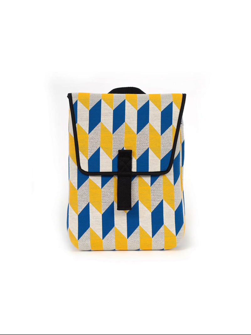 ZAINO BACKPACK MINI OPTICAL FLAG MUSTARD