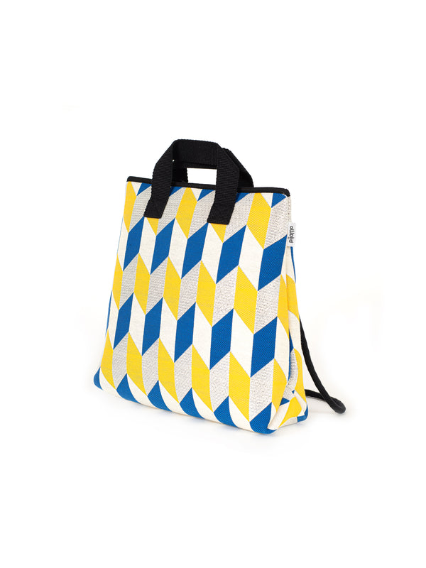 ZAINO BORSA STRING OPTICAL FLAG MUSTARD