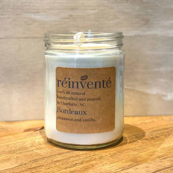 Bordeaux Soy Wax Candle