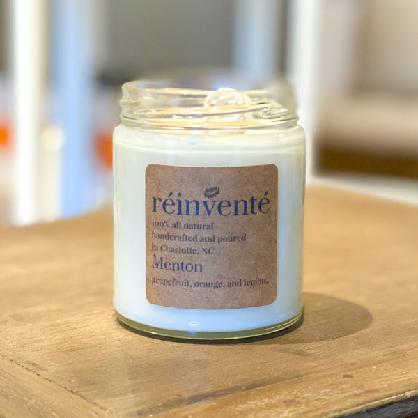 Menton Soy Wax Candle