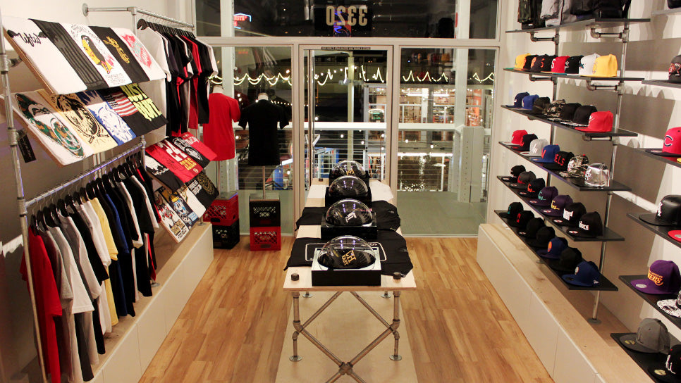 LVCK Store Interior (View From Counter)
