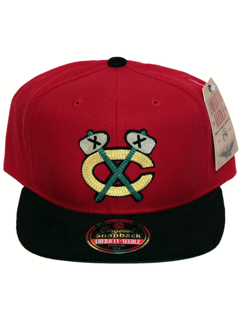 Chicago Blackhawks Vault Logo Snapback