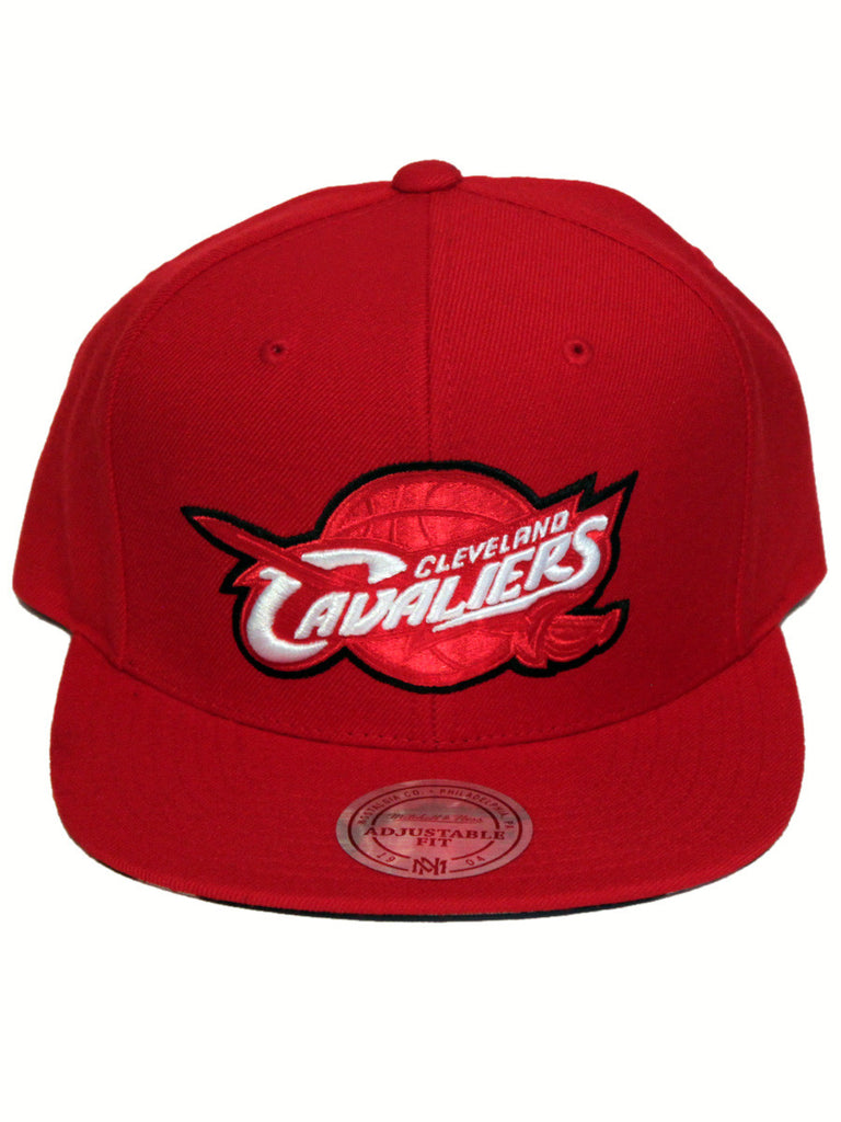 Cleveland Cavaliers Apple Red Snapback