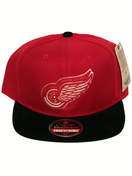 Detroit Red Wings Vault Logo Snapback