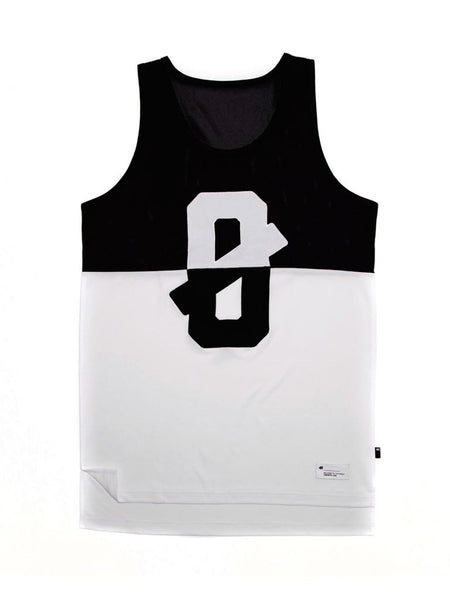 From Nothing Black/White Tank Top