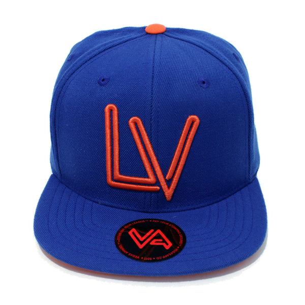 LV Neon Blue/Orange Snapback