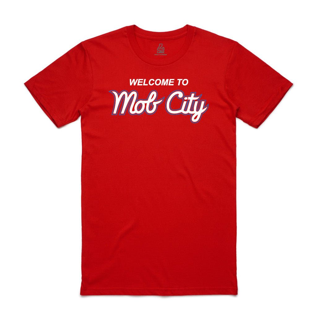 Welcome to Mob City Red Tee