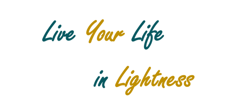 Live Your Life in Lightness Shirt Women