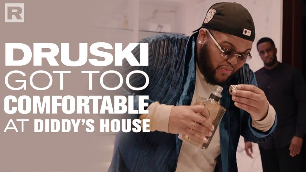 Druski Got Too Comfortable At Diddy's House The Music Industry Report INC.