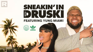 Druski stops by Yung Miami's crib for a fun lesson on sustainability