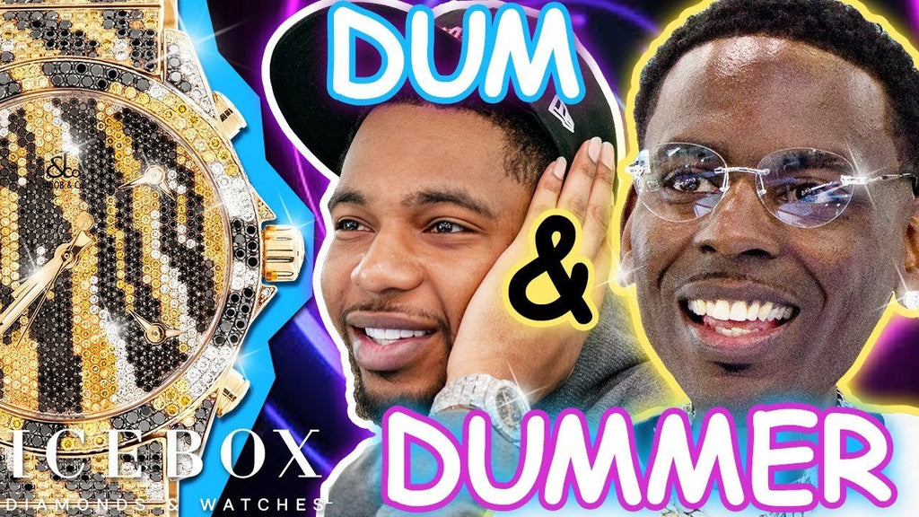 Young Dolph & Key Glock Go Dum and Dummer at Icebox