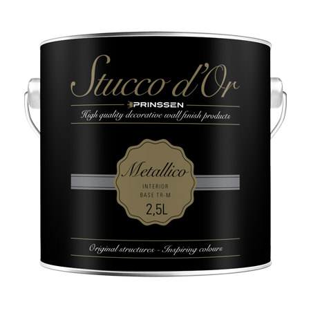 STUCCO D'OR METALLICO – Metallic muurverf