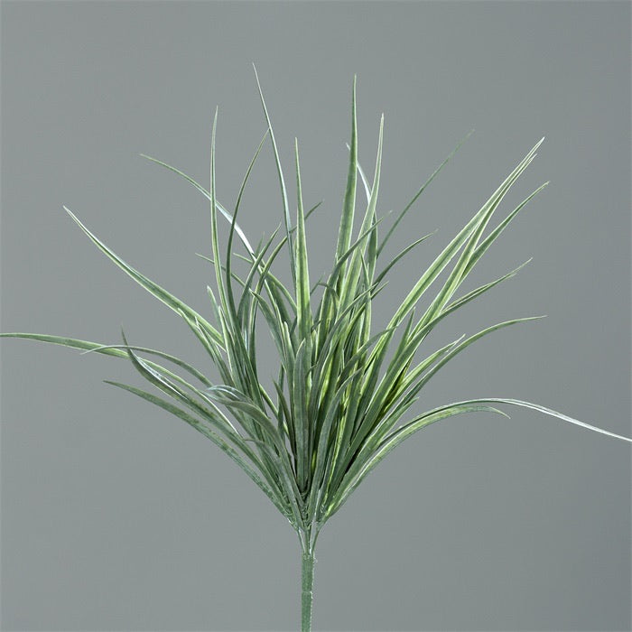 GRASS-BUSH, 35 CM, FROSTED/FLOCKED, 24/96