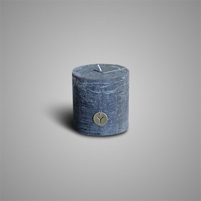 RUSTIC CANDLE BLACK D.10 H.10