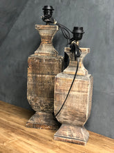 Afbeelding in Gallery-weergave laden, Lamp wood small M