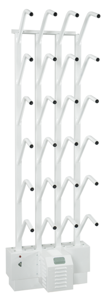 Mistral W12 - Wall Mount 12 Pair Boot Dryer