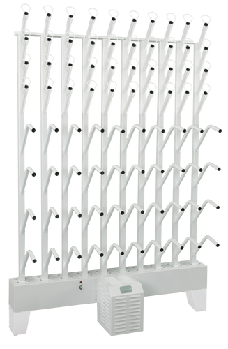 wall mounted twenty boot and twenty glove dryer