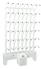 Load image into Gallery viewer, wall mounted twenty four pair boot dryer