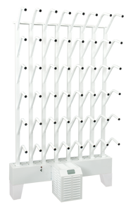 wall mounted twenty four pair boot dryer