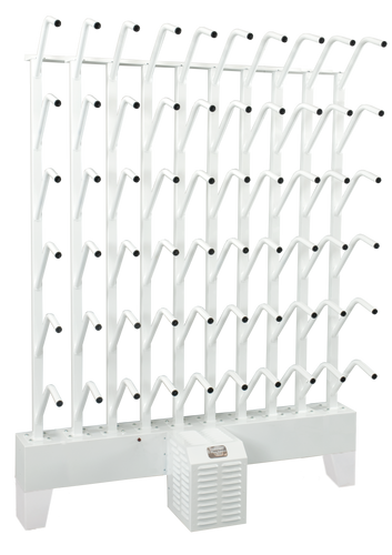 wall mounted thirty pair boot dryer