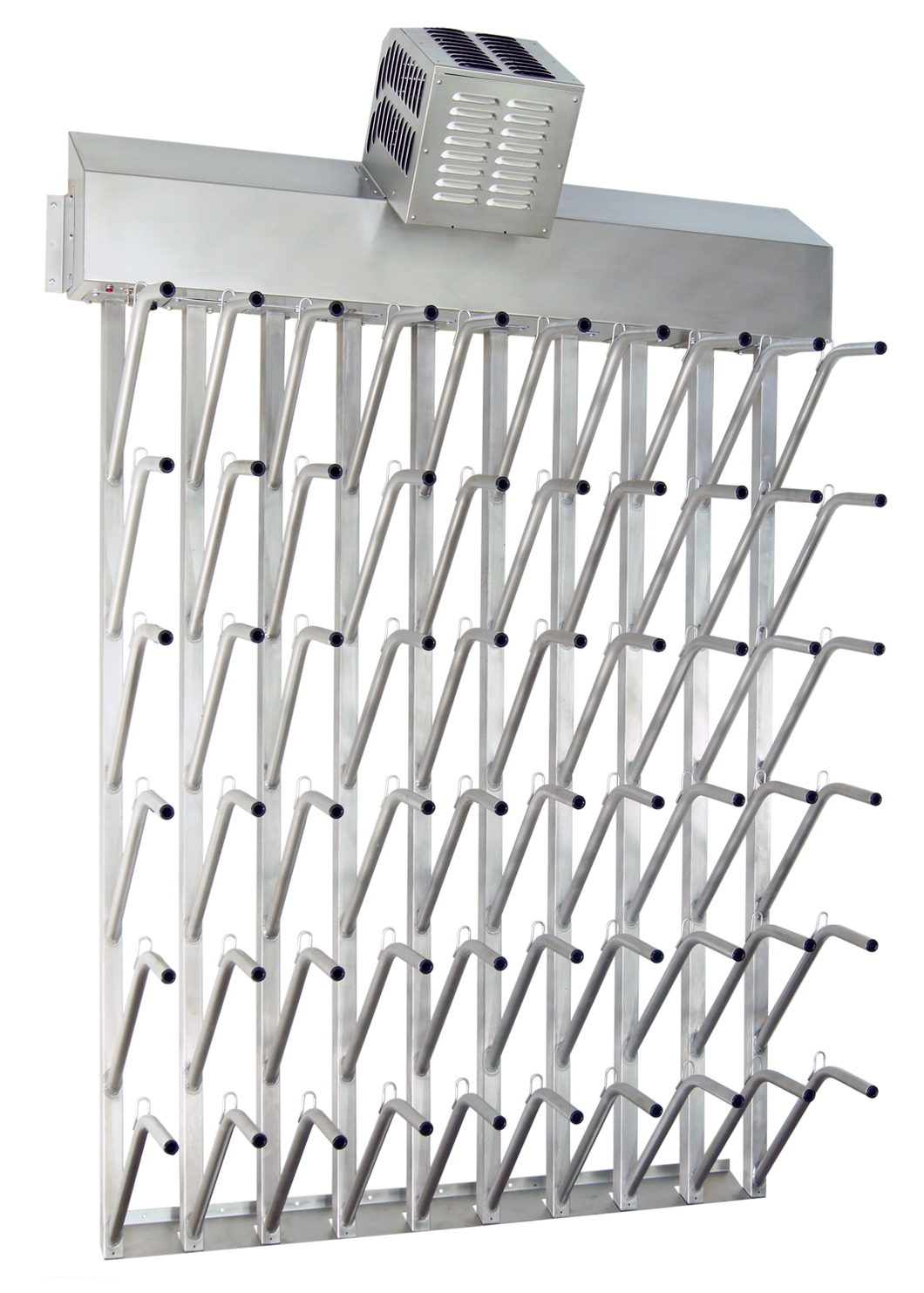 Food Processing Boot Dryer, Wall Mount, Stainless, 30 pair (60 boots) Model: W30FG
