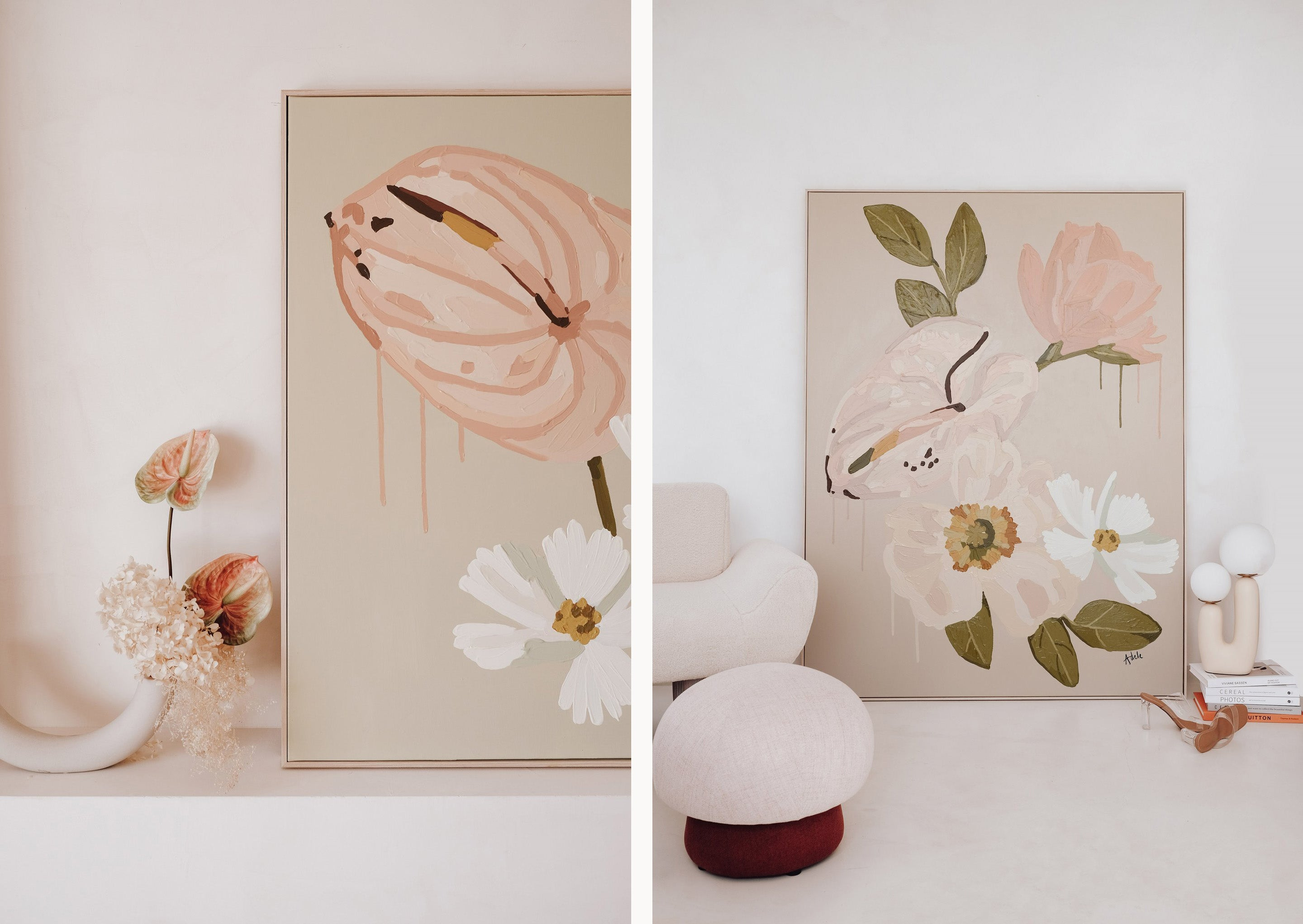 Adele Naidoo's floral collection: Flowerbed