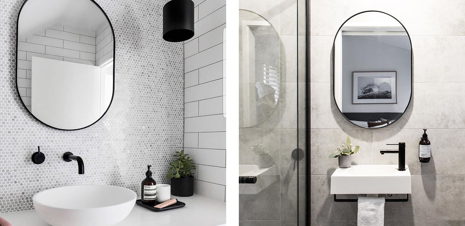Shop bathroom mirrors in Sydney, Melbourne and online.