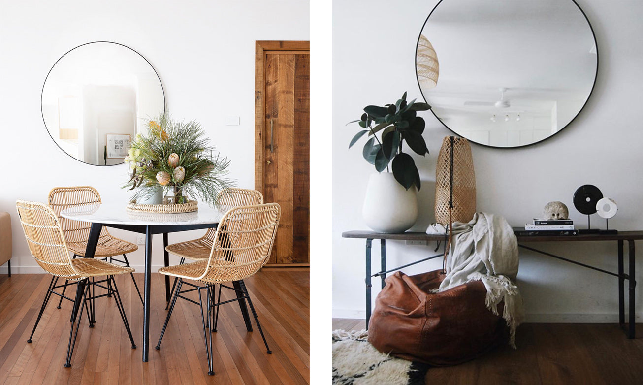 Shop round mirrors in Sydney, Melbourne and online.
