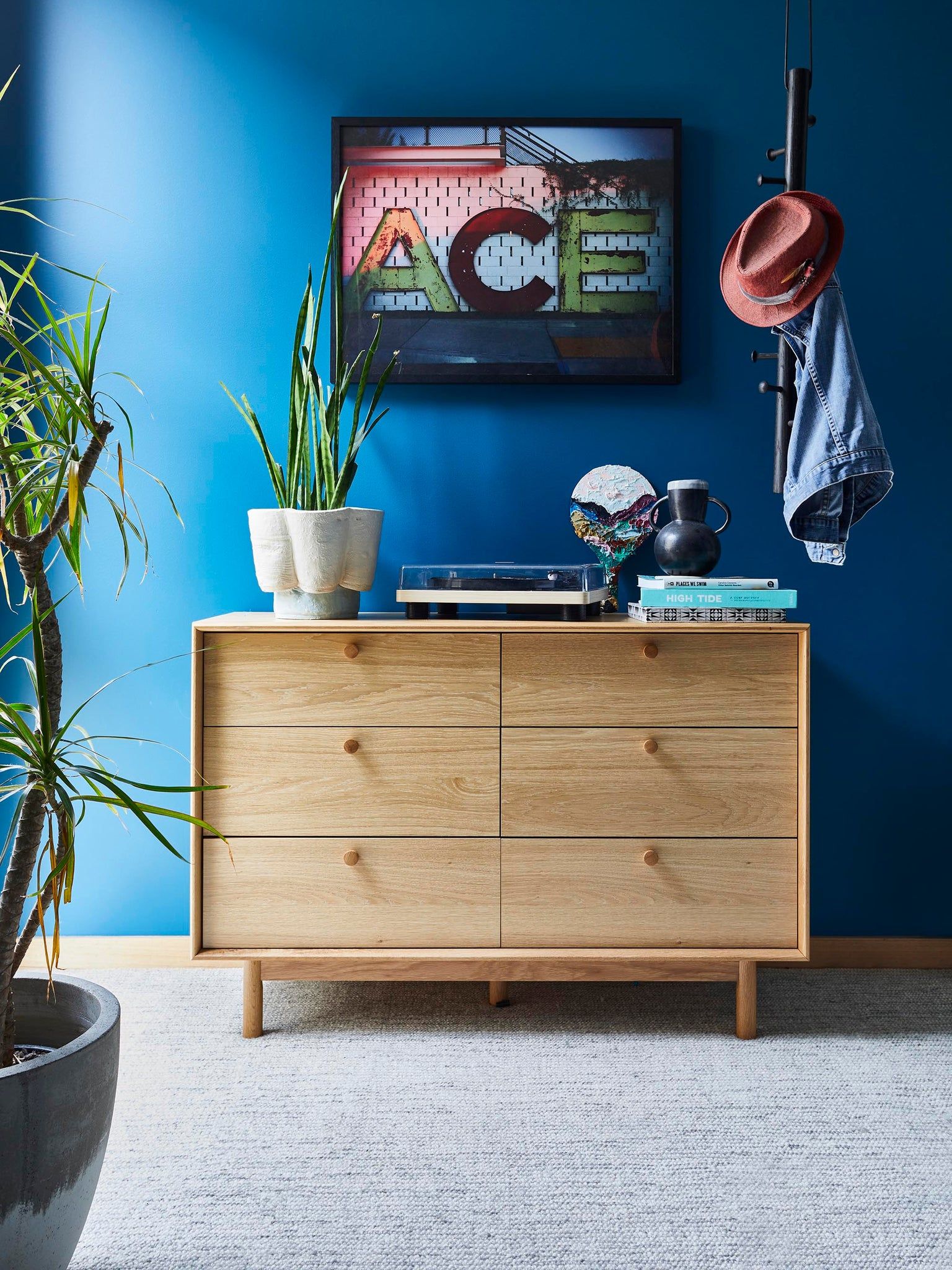 Shop the Koto Chest of 6 Drawers as styled by Julia Green!