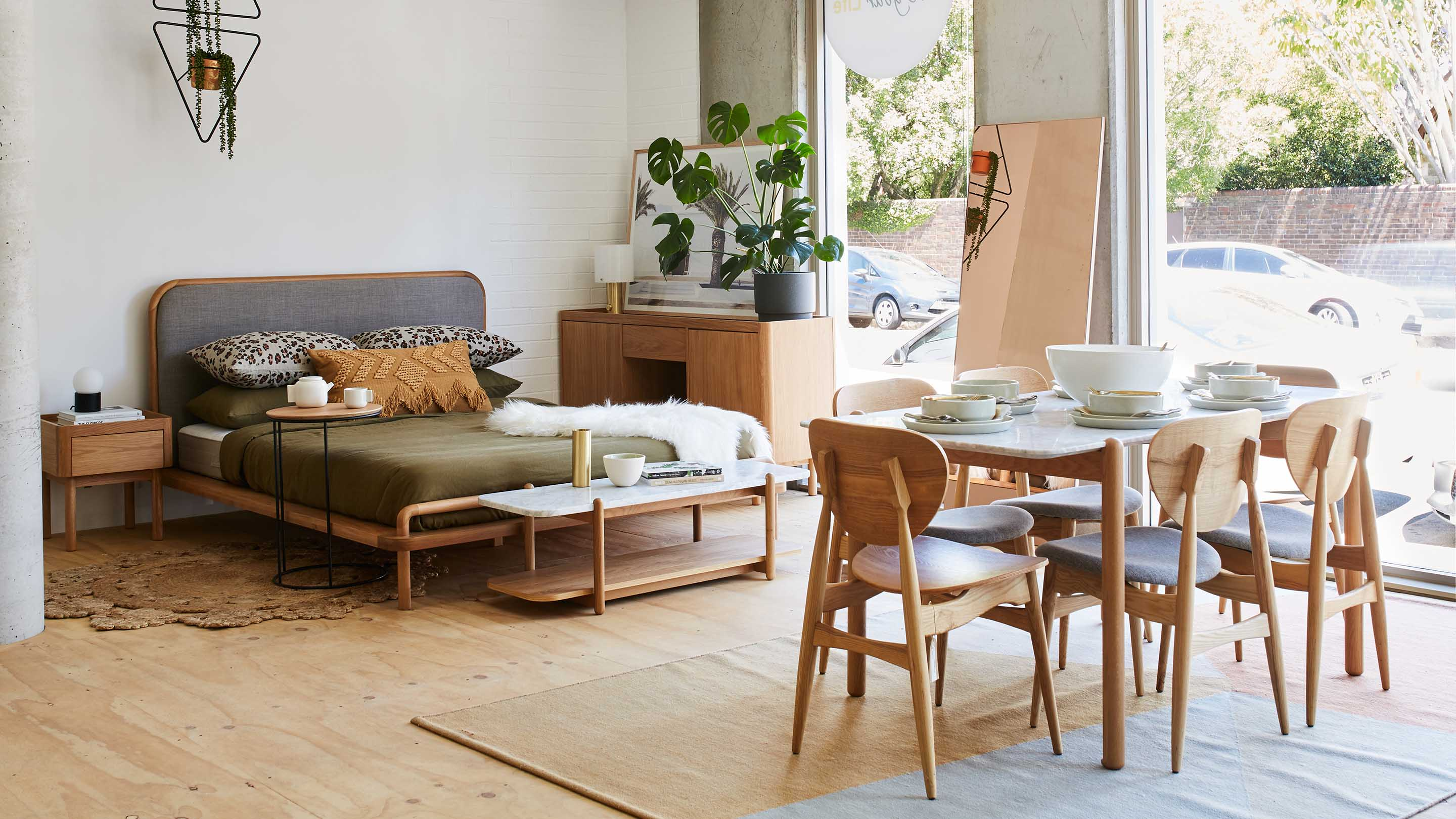 Shop furniture and homewares in our Sydney and Melbourne showrooms.