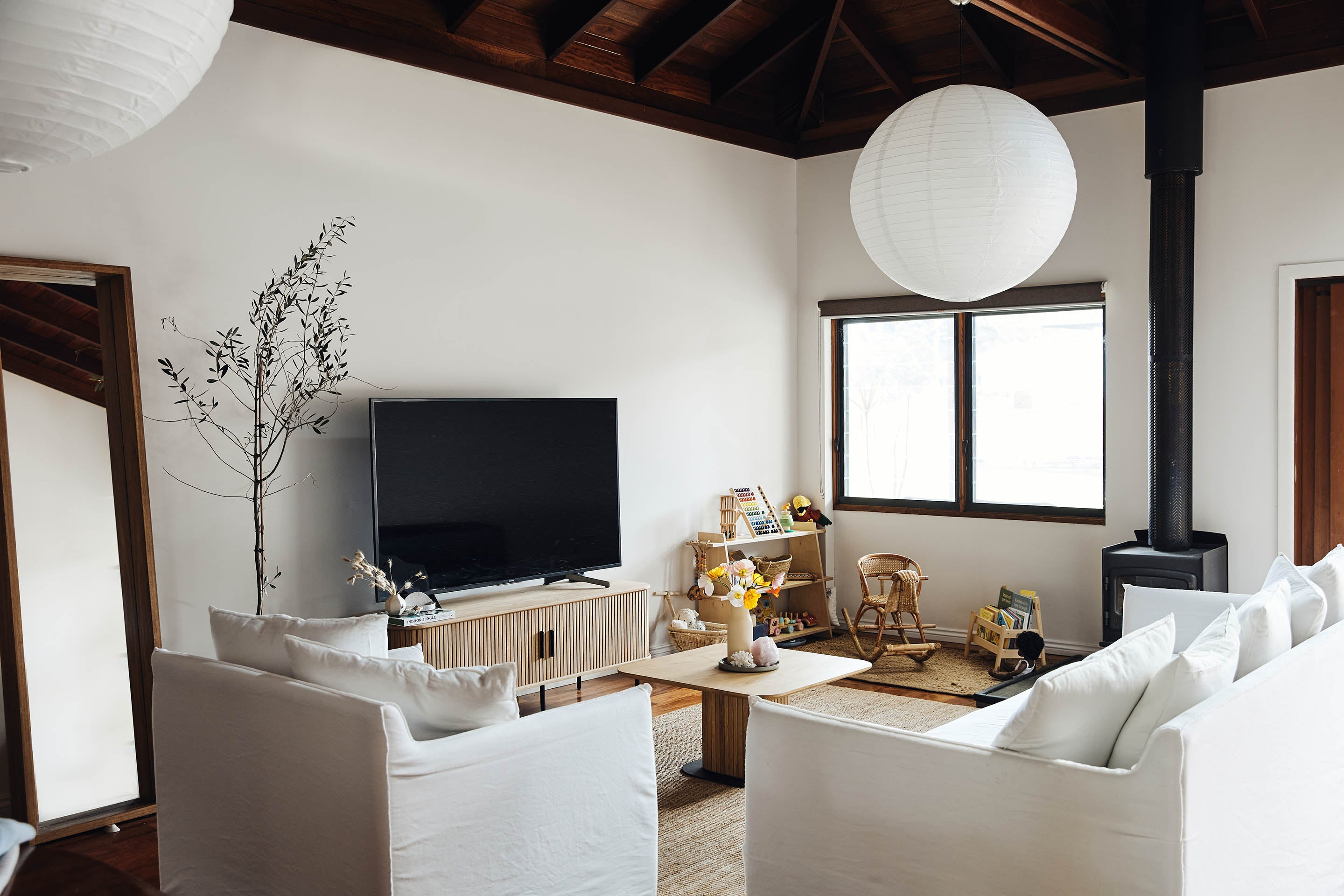 Lynden's home, shop the Ipanema Tv Unit & Ipanema Coffee Table in Sydney, Melbourne & Online.