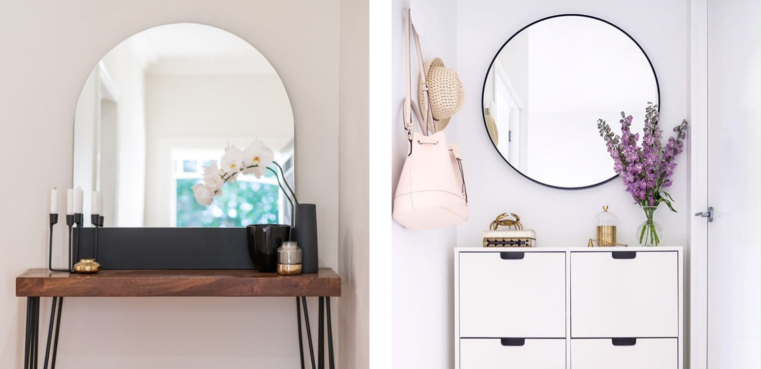 Shop mirrors in Sydney, Melbourne and online.