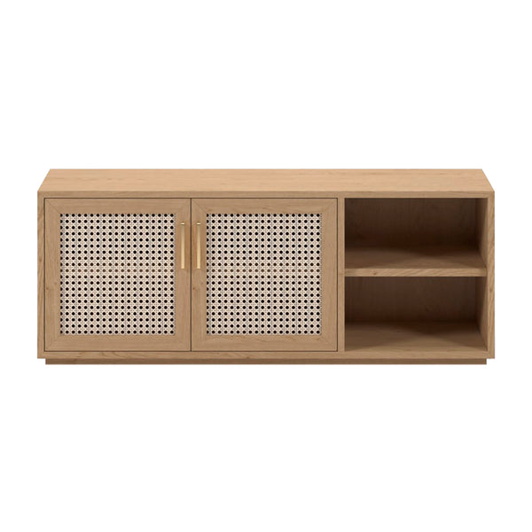 Cuba Rattan Small Entertainment Unit