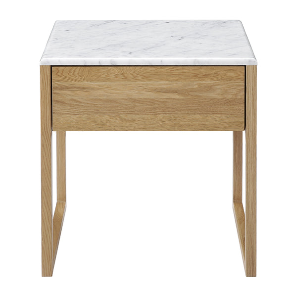 Avalon Marble Bedside Table