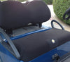 Cart Logic Onyx Black Fleece Golf Cart Seat Cover Set