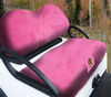 Cart Logic  Bubblegum Pink Lux Plush Golf Cart Seat Cover Set