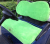 Cart Logic Tangy Lime Green Microfiber Golf Cart Seat Cover Set