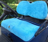 Cart Logic Ocean Blue Microfiber Golf Cart Seat Cover Set