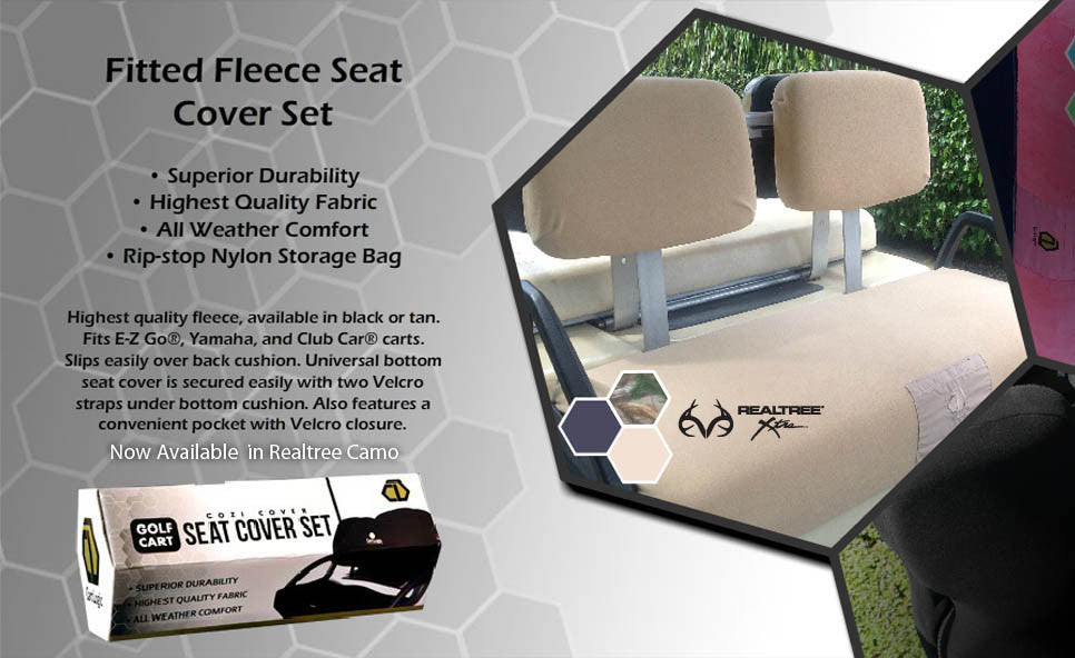 Cart Logic Golf Cart Seat Cover Sets