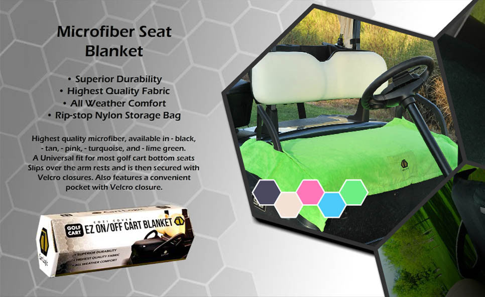 Cart Logic Golf Cart Seat Blankets