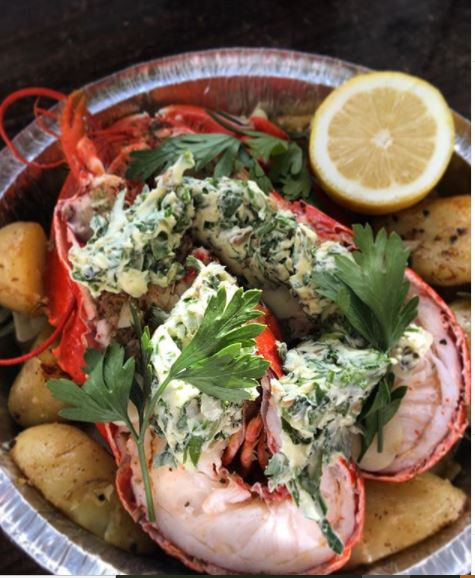 Scottish Lobster, garlic, seaweed & parsley butter   Friday