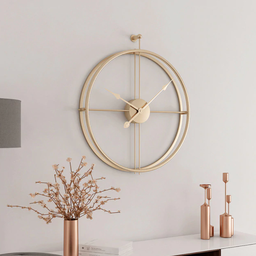 """Golden Ratio"" Luxury Wall Clock"