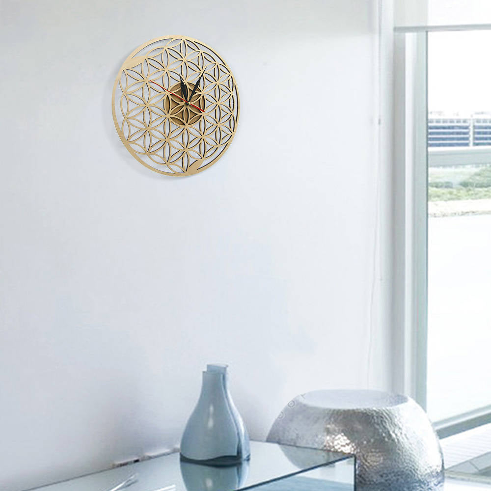 """Rings of life"" Wooden Wall Clock Limited Collection Unique Pieces"
