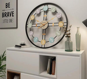 """Serendipity"" Luxury Wall Clock Roman Numeral Systems"